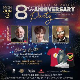 FreeDem Radio 8th Yr Anniversary